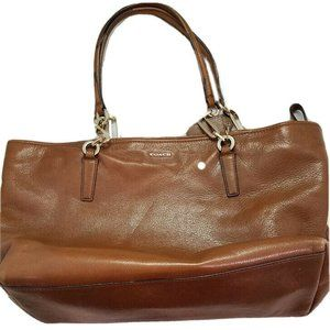 Last call Coach East West Madison Leather Tote